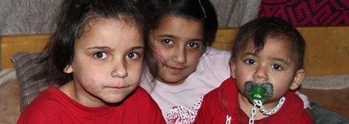 Kinder in Temesvar